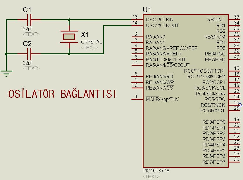 16f877a-osilator