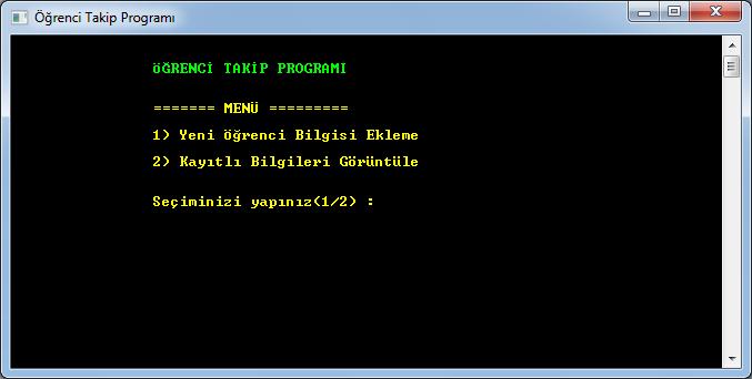 Programlama Temelleri – Ödev
