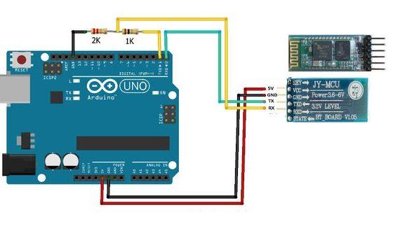 Arduino ile Bluetooth Modülü( HC-05) Kullanımı