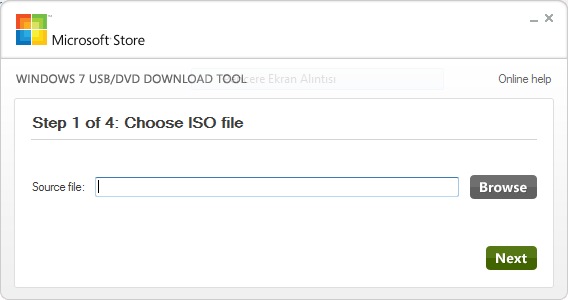USB'den / Flash'tan Format Atma İşlemi